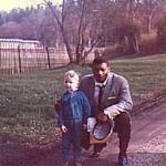Med boxningsvärldsmästaren Floyd Patterson